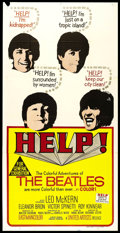 "Movie Posters:Rock and Roll, Help! (United Artists, 1965). Australian Three Sheet (40"" X 80"").Rock and Roll.. ..."