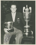 Golf Collectibles:Autographs, 1951 Dick Chapman Signed Photograph....