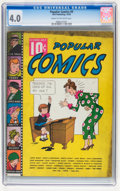 Golden Age (1938-1955):Miscellaneous, Popular Comics #9 (Dell, 1936) CGC VG 4.0 Cream to off-white pages....