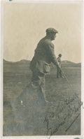 Golf Collectibles:Autographs, Circa 1910 Andrew Kirkaldy Signed Photograph....