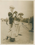 Golf Collectibles:Autographs, 1934 Ky Laffoon Signed Photograph....