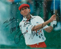 Golf Collectibles:Autographs, 1990's Payne Stewart Signed Photograph....