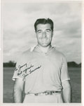 Golf Collectibles:Autographs, 1960's Jim Turnesa Signed Photograph....