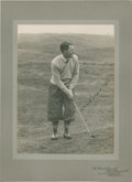 Golf Collectibles:Autographs, 1920's William Twedell Signed Cabinet Photograph....