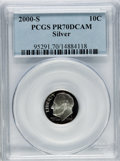 Proof Roosevelt Dimes: , 2000-S 10C Silver PR70 Deep Cameo PCGS. PCGS Population (236). NGCCensus: (878). Numismedia Wsl. Price for problem free N...