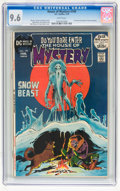 Bronze Age (1970-1979):Horror, House of Mystery #199 (DC, 1972) CGC NM+ 9.6 White pages....