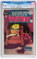 Bronze Age (1970-1979):Horror, House of Mystery #201 (DC, 1972) CGC NM+ 9.6 White pages....