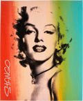 Original Comic Art:Miscellaneous, John Stango Marilyn Monroe Silkscreen Print (undated)....