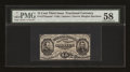 Fractional Currency:Third Issue, Fr. 1272SP 15c Third Issue Narrow Margin Face PMG Choice About Unc 58....