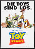 "Movie Posters:Animated, Toy Story (Buena Vista, 1995). German Posters (8) (16.75"" X 23.5"").Animated.. ... (Total: 8 Items)"