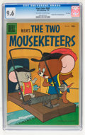 Golden Age (1938-1955):Cartoon Character, Four Color #642 MGM's The Two Mouseketeers - File Copy (Dell, 1955)CGC NM+ 9.6 Off-white to white pages....