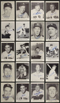 Baseball Collectibles:Photos, New York Yankees Signed Vintage Photographs Lot of 20....