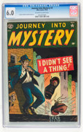 Golden Age (1938-1955):Horror, Journey Into Mystery #3 (Marvel, 1952) CGC FN 6.0 Off-white towhite pages....