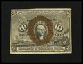 Fractional Currency:Second Issue, Fr. 1245 10c Second Issue Extremely Fine....