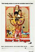 "Movie Posters:Action, Enter the Dragon (Warner Brothers, 1973). One Sheet (27"" X 41"")....."