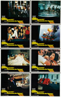 """Movie Posters:James Bond, Diamonds Are Forever (United Artists, 1971). Lobby Card Set of 8 (11"""" X 14"""") and Thunderball (United Artists, 1965). ... (Total: 10 Items)"""