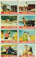 "Movie Posters:James Bond, Thunderball (United Artists, 1965). Lobby Card Set of 8 (11"" X14"").. ... (Total: 8 Items)"