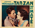 "Movie Posters:Adventure, Tarzan and His Mate (MGM, 1934). Lobby Card (11"" X 14"").. ..."