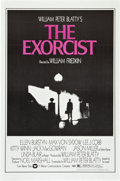 """Movie Posters:Horror, The Exorcist (Warner Brothers, 1974). Studio Release One Sheet (27""""X 41"""").. ..."""