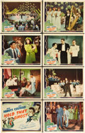"Movie Posters:Comedy, Hold That Ghost (Universal, 1941). Lobby Card Set of 8 (11"" X14"").. ... (Total: 8 Items)"