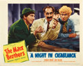 """Movie Posters:Comedy, A Night in Casablanca (United Artists, 1946). Lobby Card (11"""" X14"""").. ..."""