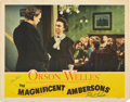 "Movie Posters:Drama, The Magnificent Ambersons (RKO, 1942). Autographed Lobby Card (11"" X 14"").. ..."