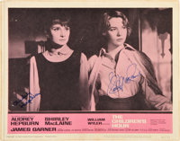 "The Children's Hour (United Artists, 1962). Autographed Lobby Card (11"" X 14"")"