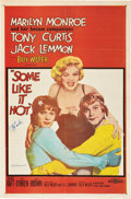 "Movie Posters:Comedy, Some Like It Hot (United Artists, 1959). Autographed One Sheet (27""X 41"").. ..."