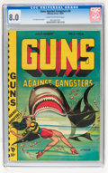 Golden Age (1938-1955):Crime, Guns Against Gangsters #6 (Novelty Press, 1949) CGC VF 8.0 Cream to off-white pages....