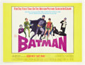 "Movie Posters:Action, Batman (20th Century Fox, 1966). Half Sheet (22"" X 28"").. ..."