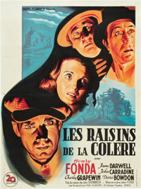 """The Grapes of Wrath (20th Century Fox, 1940). French Affiche (23.5"""" X 31.5"""")"""
