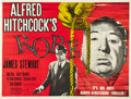 "Movie Posters:Hitchcock, Rope (MGM, R-1950s). British Quad (30"" X 40"").. ..."