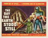 "The Day the Earth Stood Still (20th Century Fox, 1951). Half Sheet (22"" X 28"")"