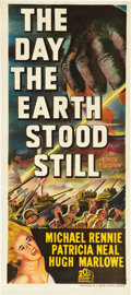 "Movie Posters:Science Fiction, The Day the Earth Stood Still (20th Century Fox, 1951). AustralianDaybill (13"" X 30"").. ..."