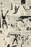 Original Comic Art:Panel Pages, Wally Wood Daredevil #7 page 7 Original Art (Marvel,1965)....