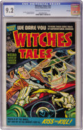 Golden Age (1938-1955):Horror, Witches Tales #20 File Copy (Harvey, 1953) CGC NM- 9.2 Cream tooff-white pages....