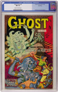 Golden Age (1938-1955):Horror, Ghost #5 Northford pedigree (Fiction House, 1952) CGC NM 9.4 Creamto off-white pages....