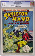 Golden Age (1938-1955):Horror, Skeleton Hand #3 Northford pedigree (ACG, 1953) CGC NM- 9.2Off-white pages....