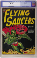 Golden Age (1938-1955):Science Fiction, Flying Saucers #nn River City pedigree (Avon, 1952) CGC NM- 9.2Cream to off-white pages....