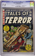Golden Age (1938-1955):Horror, Tales of Terror Annual #3 (EC, 1953) CGC VF- 7.5 Cream to off-whitepages....