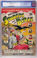 Golden Age (1938-1955):Religious, Picture Stories from the Bible - Old Testament Issue No. 4 (DC,1943) CGC NM 9.4 Off-white to white pages....