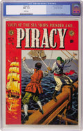 Golden Age (1938-1955):Adventure, Piracy #4 Gaines File pedigree 5/12 (EC, 1955) CGC NM+ 9.6 White pages....