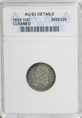 Bust Dimes: , 1833 10C --Cleaned--ANACS. AU53 Details. NGC Census: (6/195). PCGSPopulation (8/143). Mintage: 485,000. Numismedia Wsl. Pri...