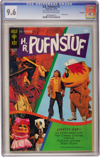 H. R. Pufnstuf #1 File Copy (Gold Key, 1970) CGC NM+ 9.6 Off-white to white pages
