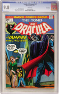 Bronze Age (1970-1979):Horror, Tomb of Dracula #17 Massachusetts Copy pedigree (Marvel, 1974) CGCNM/MT 9.8 White pages....