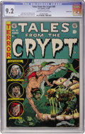 Golden Age (1938-1955):Horror, Tales From the Crypt #40 Double Cover (EC, 1954) CGC NM- 9.2 Creamto off-white pages....