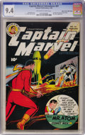 Golden Age (1938-1955):Superhero, Captain Marvel Adventures #81 Mile High pedigree (Fawcett, 1948) CGC NM 9.4 Off-white to white pages....