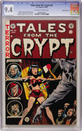 Golden Age (1938-1955):Horror, Tales From the Crypt #41 Gaines File pedigree (EC, 1954) CGC NM 9.4Off-white to white pages....