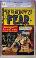 Golden Age (1938-1955):Horror, Haunt of Fear #16 (#2) Gaines File pedigree (EC, 1950) CGC NM+ 9.6Off-white to white pages....