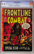 Golden Age (1938-1955):War, Frontline Combat #7 Gaines File pedigree (EC, 1952) CGC NM 9.4White pages....